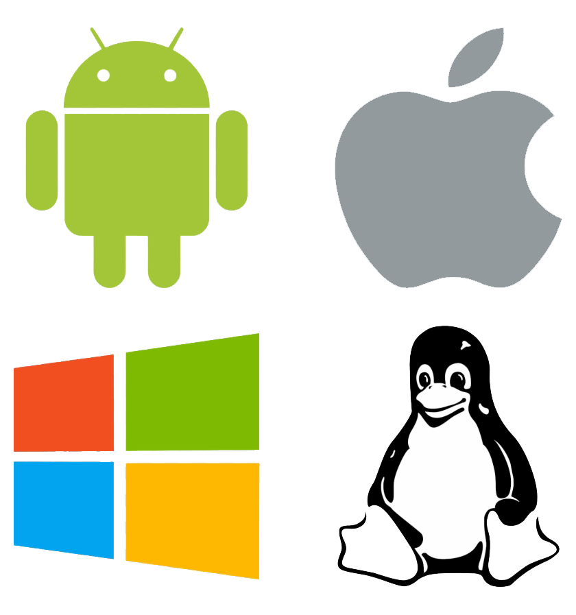 mac,windows,linux,android